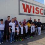 Wischer Logistics: Trikot-Sponsoring fördert Fußball-Nachwuchs
