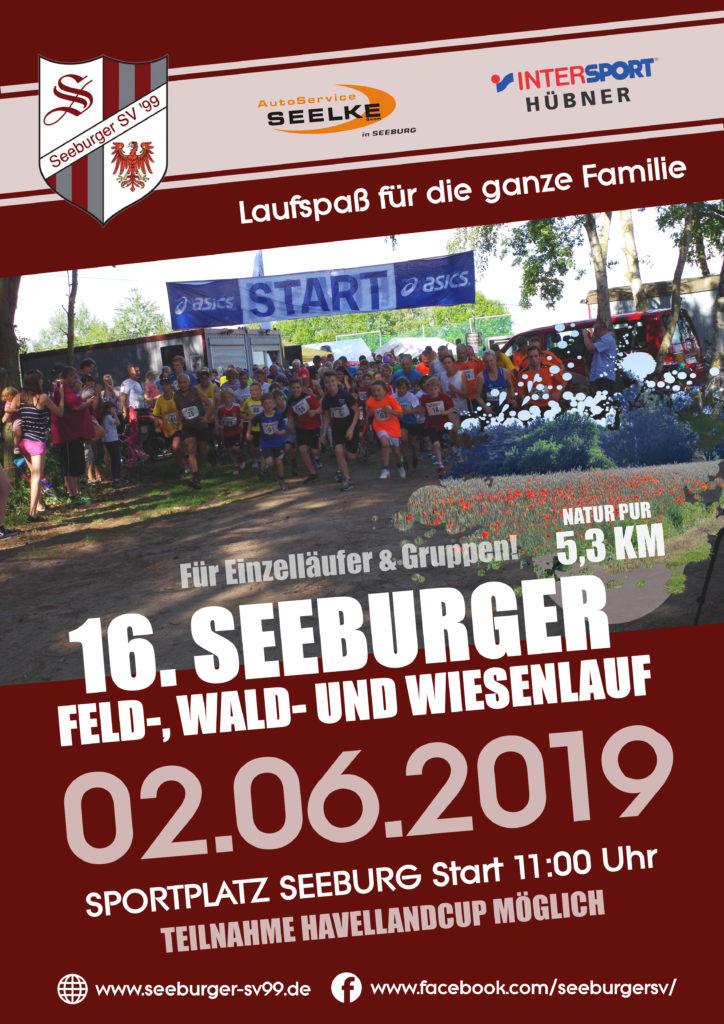 16. Seeburger Feld-, Wald- und Wiesenlauf am 2. Juni 2019