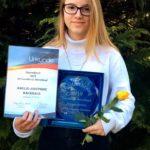 Amelie Backhaus vom Seeburger SV erhält Jugendpreis 2019